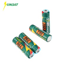 Фотография KINBAT 4pcs/lot 750mAh 1.2V AA Ni-CD Rechargeable Battery AA Pre-Charged NICD Batteries Pack For Toys Microphone Remote Controls