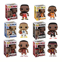 FUNKO POP Basketball star James-Kobe- Stephen Curry -Kyrie Irving -John Wall  -Action Figure Collectible Model Toy for Fans
