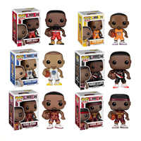 FUNKO POP Basketball-star James-Kobe-Stephen Curry-Kyrie Irving-John Wand-Action Figure Sammeln modell Spielzeug für Fans