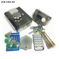 MC-203E 125KHZ RFID electronically controlled access control integrated lock / electric lock /+10 Jade style keyfobs