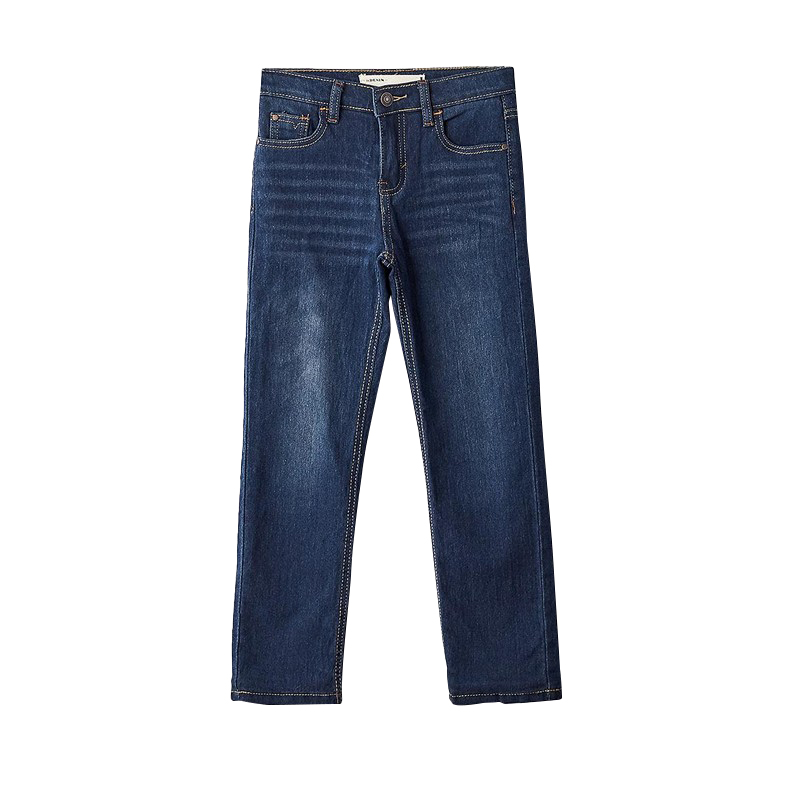 Jeans MODIS M182D00201 for boys kids clothes children clothes TmallFS new denim dress jeans jacket 2pcs suits belt girls summer children s models denim vest jeans for girls clothes jeans fit 2 6y