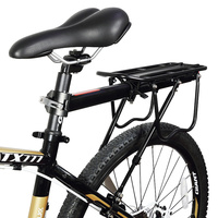Aluminum Alloy Bicycle Cargo Racks Adjustable Length MTB Mountain Bike Luggage Carrier Cycling Rear Rack Cycling Accessories