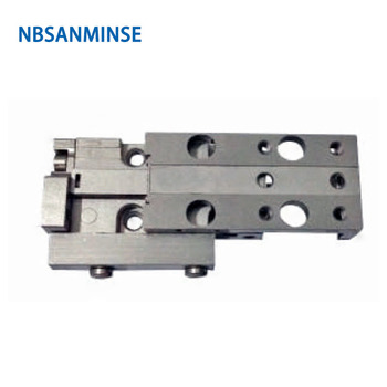 MXJ 4 6 8mm Double Acting Pneumatic Compressed Air Slide Table Cylinder Compressor Parts 0.15 to 0.7MPa SMC Type Cylinder Sanmin