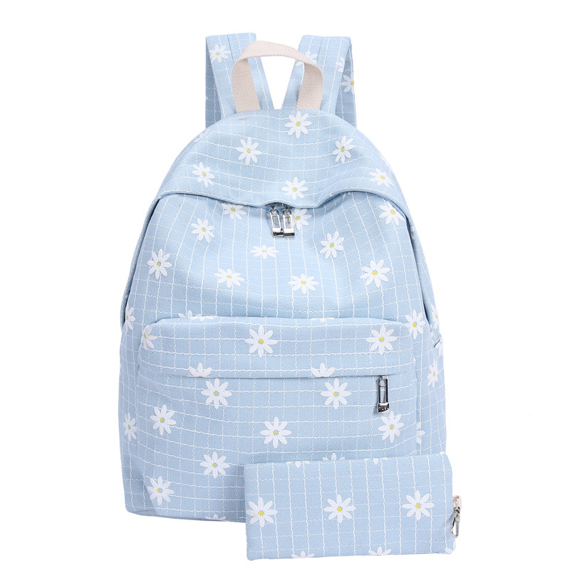 Fashion Casual Backpack School Bags Women Flower Printing Backpacks Casual Daypack for Teenage Girls