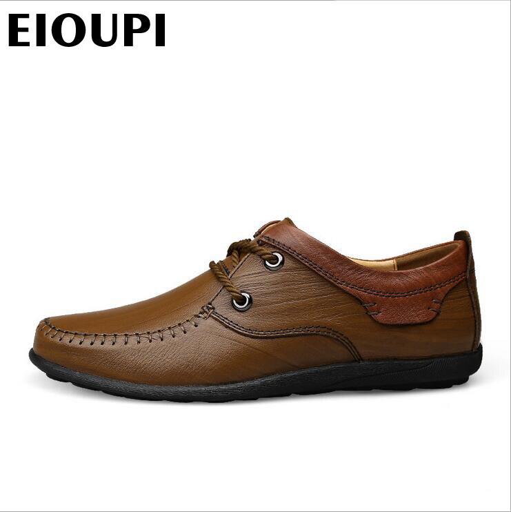 Couro 3 2 Respirável Genuíno Qualidade Novo De Dos Sapatos Eioupi 1 Moda Real Sapato Design Lh1789 Da Negócios Casual Top Homens Vaca x0ngaqa1