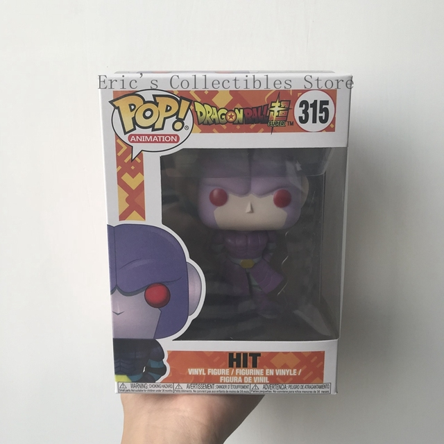 FUNKO POP Anime Dragon Ball Super - HIT Action Figure PVC Collection Model Toy