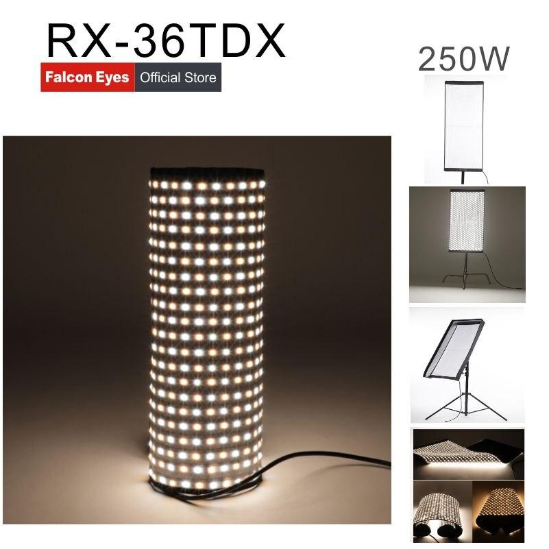 Falcon oczy 240 W oświetlenie do fotografii przenośny LED oświetlenie do fotografii elastyczne LED oświetlenie do fotografii RX-36TDX CD50