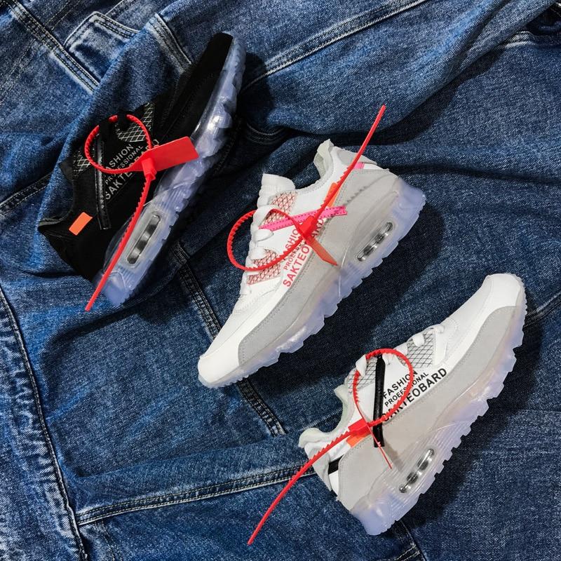 08d1e7f2ec9b6 2018 New Air Authentic Men's and Women's Running Shoes GYM Sports Fashion  Sneakers Male Jogging 97