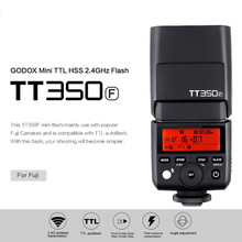 Inno Godox TT350F Thinklite TTL HSS 2.4GHZ Camera Flash Speedlite High Speed 1/8000S GN36 for Fuji Mirrorless Digital Camera
