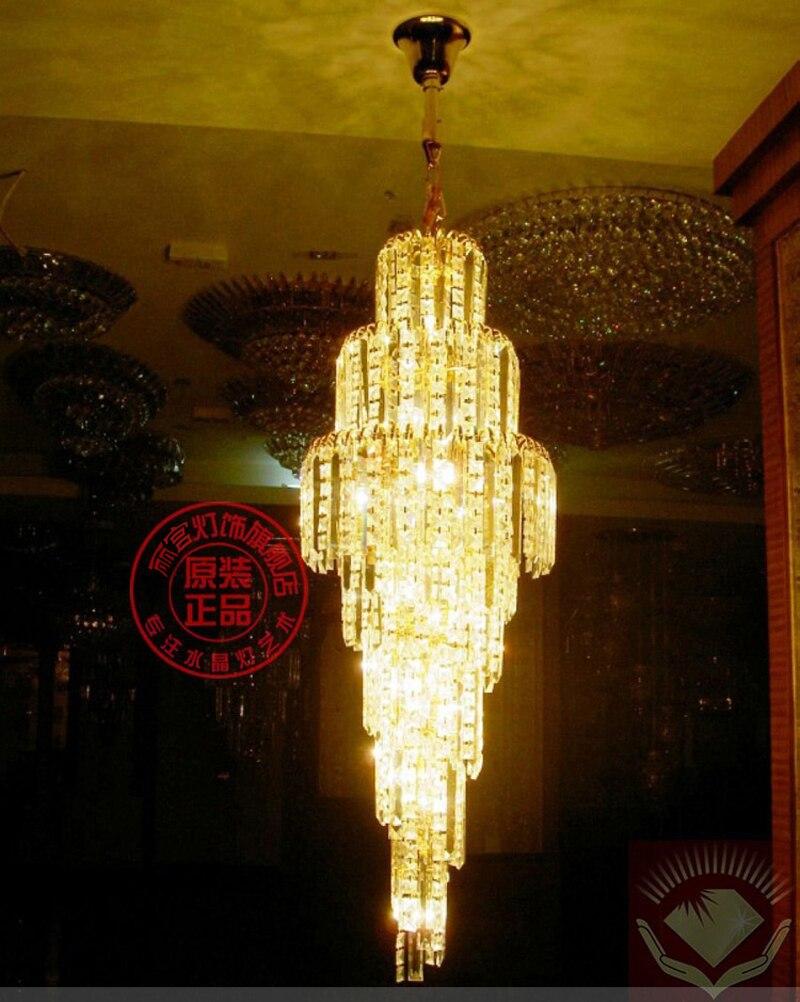 Achetez en gros hall de l 39 h tel lustre en ligne des grossistes hall de - Lustre multi ampoules ...