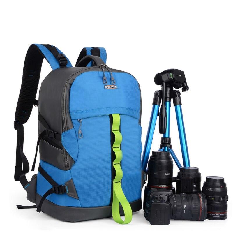 Sinpay étanche DSLR reflex appareil photo numérique sac à dos multi-fonction caméscope vidéo sac pour Nikon Canon EOS Sony Casio Panasonic