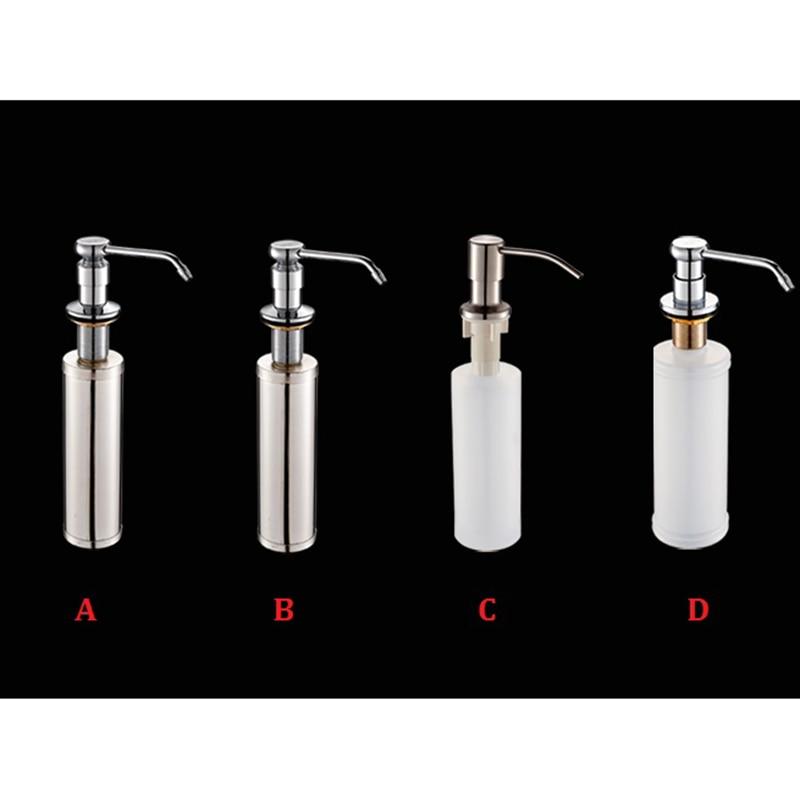 Soap Lotion Dispenser WASHING UP LIQUID DISPENSER PUMP ACTION WORKTOP KITCHEN SINK