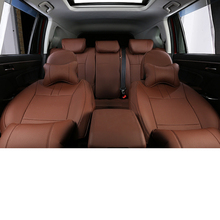 Lsrtw2017 Luxury Duable Fiber Leather Car Seat Mat for Trumpchi Gs7 Gs3 2017 2018 2019 2020