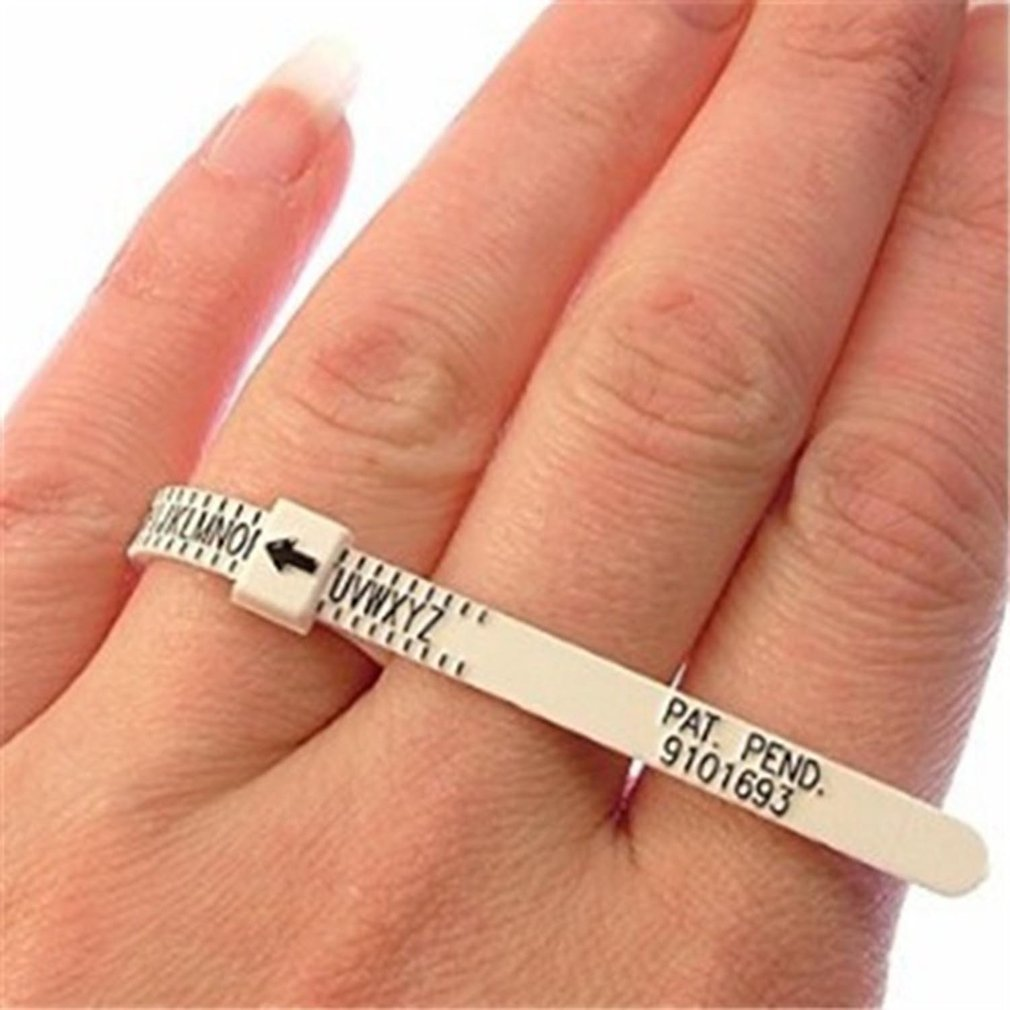 Ring Sizer Measure Finger Gauge Ring Sizing Tool For Wedding Rings UK Size US Size Measurements Ring Sizer