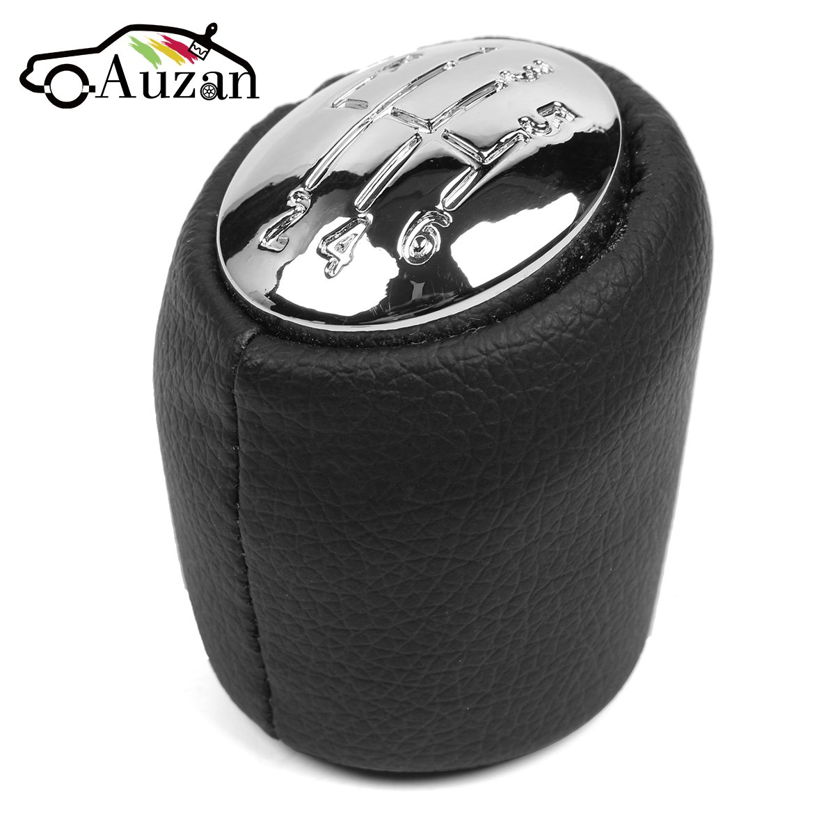 6 Speed Car Gear Shift Knob Gear Handball Head Knob Chrome Caps For Renault Laguna II 2 Mk2 2001 2002 2003 2004 2005 2006 2007 цена