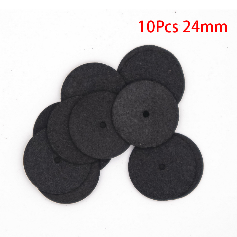 10Pcs 24MM Black Cutting Abrasive Discs Reinforced Cut Off Grinding Wheels Rotary Blade Disc Tool Parts Resin Cut-off