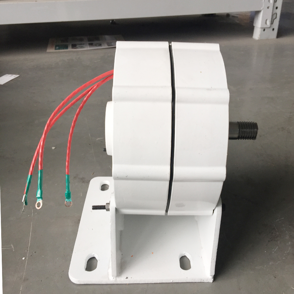 600w 48V permanent magnet generator LOW torque and low RPM 5 phase AC alternator