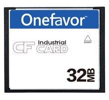 10 pçs/lote onefavor 64 32MB MB 128MB 256MB 512MB Cartão CompactFlash, de Pequena Capacidade, indústria de Cartão de Memória CF,
