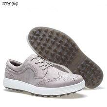 Nieuw ontwerp golfschoenen Mannen waterdichte lederen schoenen sportschoenen golfschoenen sneakers mannelijke tennisschoenen