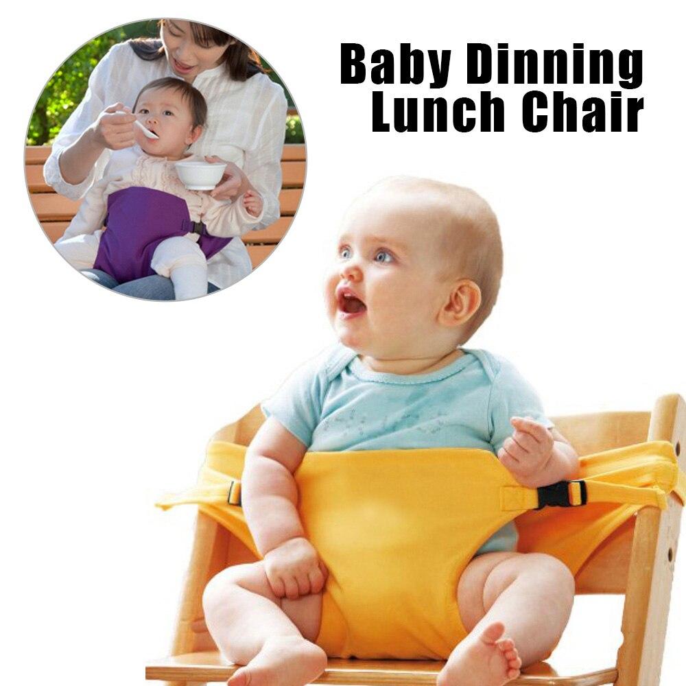 Baby Mittagessen Stuhl Infant Dinning Gürtel Tragbare Infant Esszimmer Stuhl Sicher Festen Stuhl Baby Fütterung Stuhl Gürtel Schutz Babys Verhindern, Dass Haare Vergrau Werden Und Helfen, Den Teint Zu Erhalten