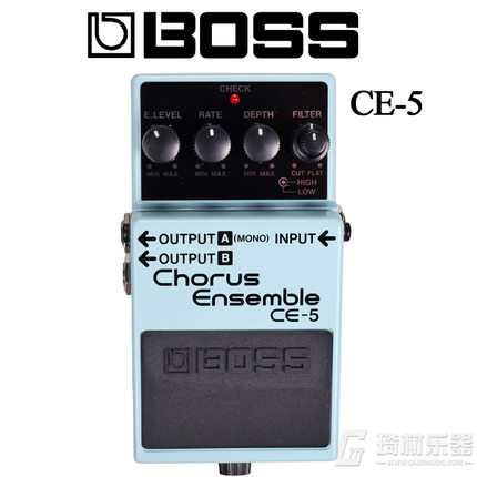Boss Audio CE-5 Stereo Chorus Ensemble Pedal for Guitar boss audio ce 5 stereo chorus ensemble pedal for guitar