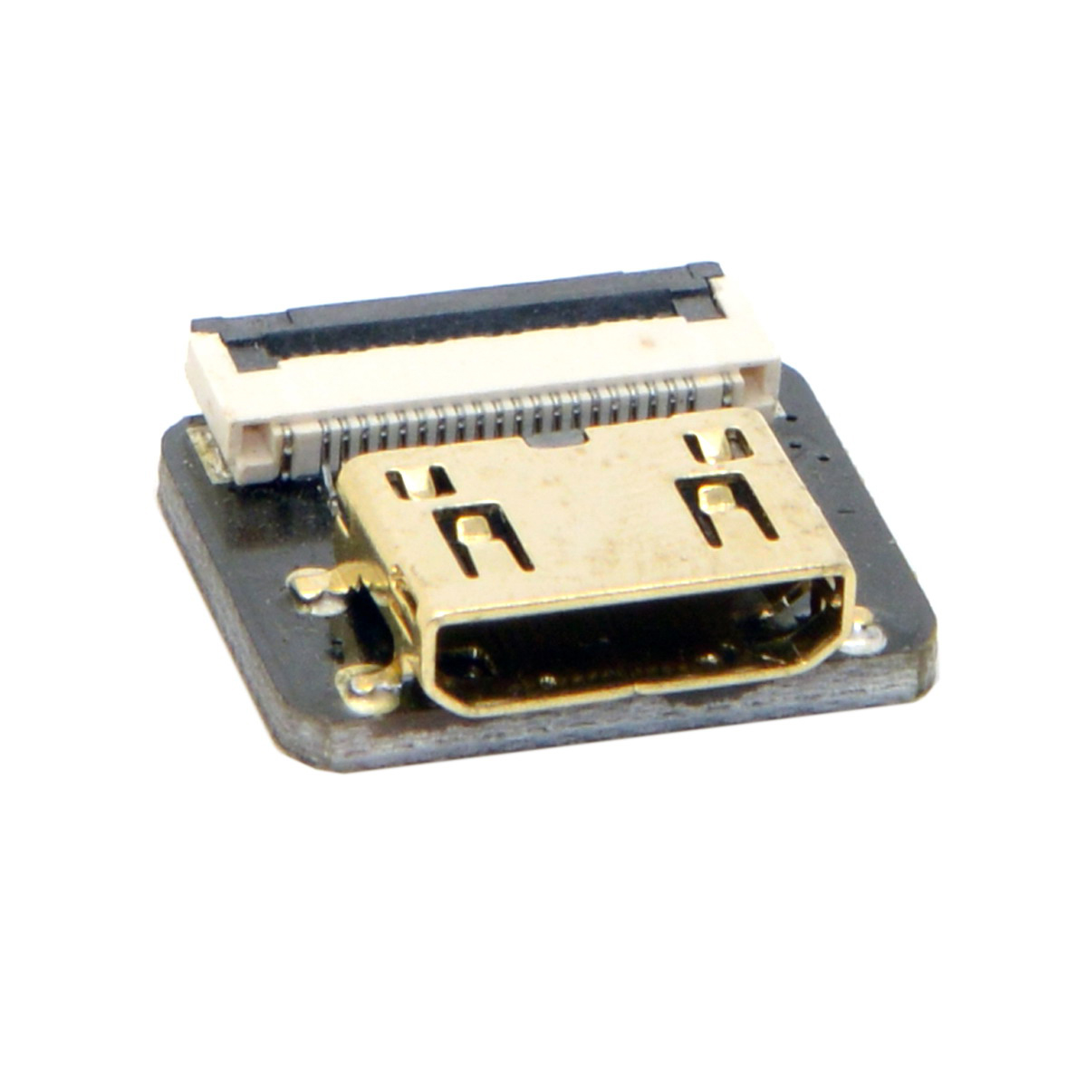 10 pcs/lot Cablecc CYFPV Mini HDMI Type C connecteur femelle prise pour FPV HDTV Multicopter photographie aérienne CN-017-FE