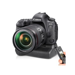 Image 5 - Meike MK 6DII Pro Battery Grip Built in 2.4G Remote Control for Canon 6D Mark II As BG E21