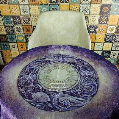 Hot Flower Shadow Tarot Tablecloth Shadowscapes Tarot Divination Magic Ceremony Tablecloth Tarot Cloth
