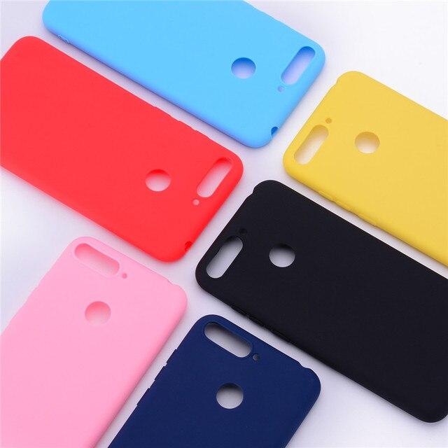Y6 2018 Siliconen Case op voor Huawei Y6 Prime 2018 case Soft TPU Back Cover Voor Coque Huawei Y6 2018 Y 6 Prime 2018 Telefoon Gevallen