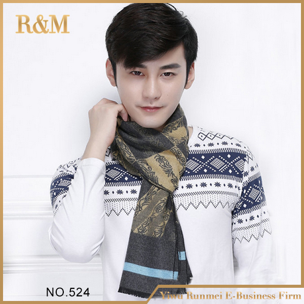 2016 новинка модных мужских печать шарфа человек большой красивый шарф толе