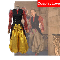 2016 American Fantasy Adventure Film Alice in Wonderland 2 Alice Cosplay Costume For Adult Christmas Halloween