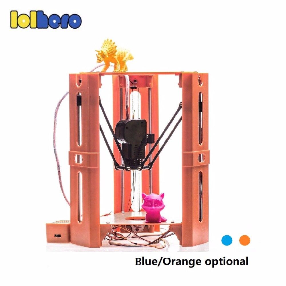 101 герой переносной 3D-принтеры мини 1.75 мм 0.4 мм сопла нити металлическом столе 3D-принтеры DIY Kit DV версии Прямая доставка