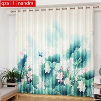 chinese blackout blinds curtains living room 3d curtains for bedroom linen curtains modern curtain roman blinds children room