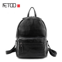 AETOO The New Litchi Pattern Leather Shoulder Bag Women Europe And The United States Trendy Leather