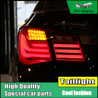 Car Styling LED Tail Lamp For Chevrolet Cruze 2009 2014 Sedan Taillights Rear Light DRL Turn