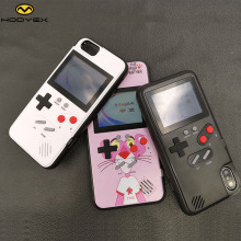 Full color display Cases for iphone 7 6 6s 8 plus X Tetris Game PC back Coque
