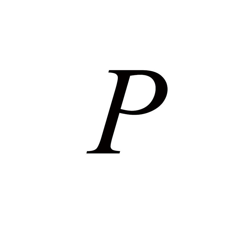 Персонализированные ручные штампованные A-Z, 26 букв, начальные крошечные кольца в виде сердца для женщин, золотые кольца на палец, ювелирные изделия - Цвет основного камня: P