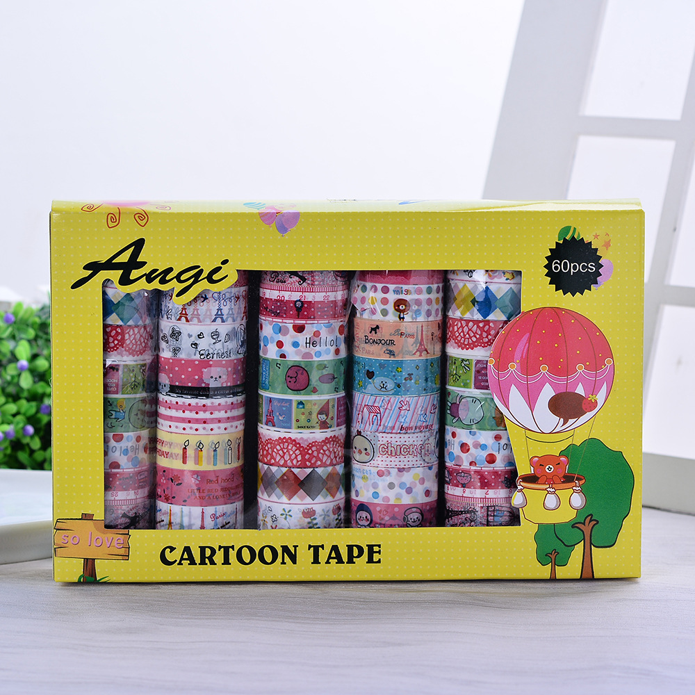 decorative scotch tape kawaii japanese washi tape lot washitape fita adesiva decorativa ruban. Black Bedroom Furniture Sets. Home Design Ideas