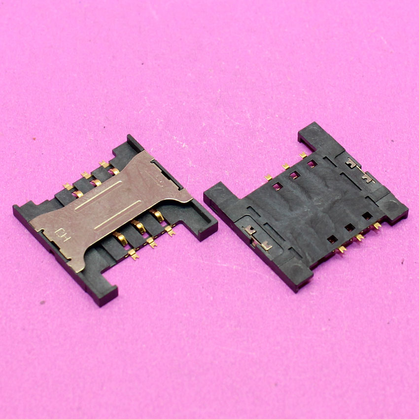 YuXi Replacement Brand New 16.5 X 16.5mm sim card socket for ZTE V880 / for lenovo A298T A288T A336 and tablet