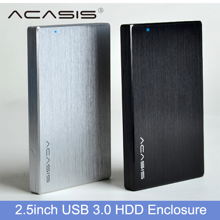 ACASIS 2 5 inch Notebook HDD SSD Enclosure SATA USB 3 0 Mobile Hard Drive font