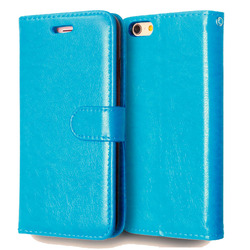 Case For iPhone 6 6S Luxury Wallet Flip Leather Cover For Case iPhone 6 Cell Phone Cases With Credit Card Holder Stand Holster 5
