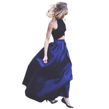Bbonlinedress Two-piece Sexy Evening Dress 2019 Halter Neck Line Prom New Arrival Party Elegant Gowns