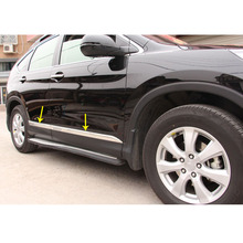 Side Door Trim Strip Molding Stream For CRV 2012-2018 (Stainles or ABS)