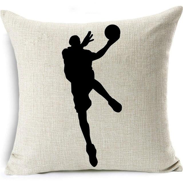 Shadow Basketball Cushion Cover 8