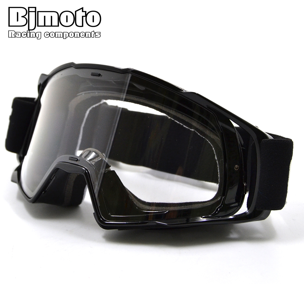 BJMOTO Motocross Skiing Snow Goggle Motorcycle Adult Flexible Goggles Airsoft Glasses Sport Eyeglasses Spectacles Eyewear