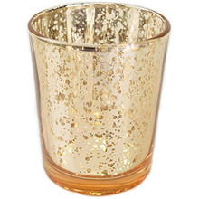 Mercury Glass Votive Tealight Candle Holders for Wedding Parties and Home Decor candel crystal candle holder
