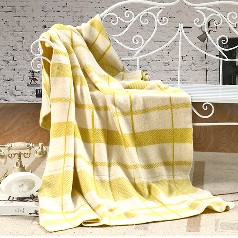 Knitted Blanket Cobertor Cotton Plaid Sofa Soft plaid Blanket Throws Sleeping Summer Bedspread Double Striped Travel Blankets thicken soft knitted sleeping bag kids wrap mermaid blanket