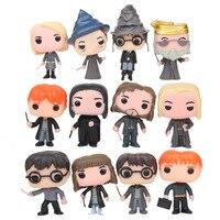 12Pcs Funko POP Harry Potter Severus Snape 10CM Vinyl Action Figure Anime Figure Collection Model Toys Christmas Gift 2F29