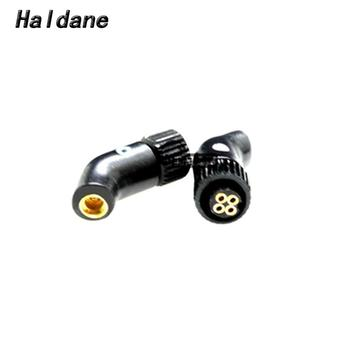 Free Shipping Haldane pair Headphone Plug for H24 Roxanne 24 Iriver AK R03 AKR02 UM PP6 to MMCX/0.78mm Female Converter Adapter