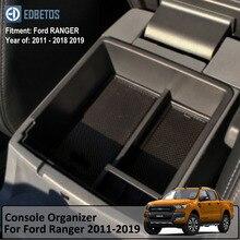 RANGER подлокотник коробка для Ford RANGER 2011-2017 2018 2019 расширенной Wildtrak держатель для консоли лоток автомобильный Органайзер